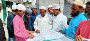 वसीम रिज़वी के खिलाफ ऑल इंडिया उलमा व मशाइख़ बोर्ड का विरोध प्रदर्शन